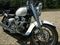 CONDITION features -chrome front forks -$3,200.00 rims
