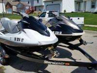 2010 Yamaha 4 stroke 110 HP VX Cruiser waverunners for