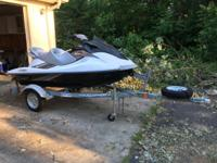 2010 Yamaha Waverunner VX Cruiser for sale. This is a