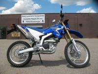 2010 Yamaha WR250R in Team Yamaha Blue & White. A