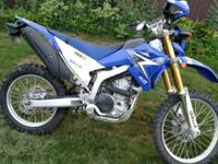 2010 Yamaha WR250R for sale Street legal dual sport