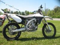 2010 Yamaha YZ 450F This bike pushes the boundaries of