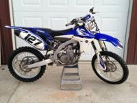 I have a 2010 YZ450F for sale. It runs very good. I