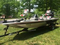 For Sale is an Excellent condition 2010 Bass Tracker