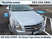 2010 Cadillac CTS 3.6L Performance Radiant Silver