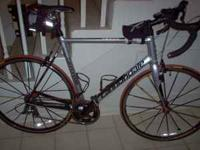 This bike is a fantastic road bike. It has a 58cm