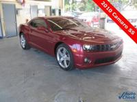 2010 Camaro 2SS ** RS Package ** 400hp...6.2-liter V8