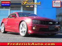 Camaro SS 2SS, 2D Coupe, 6.2L V8 SPI, Heated Driver &