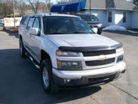 2010 CHEVROLET COLORADO LT CREW CAB 4X4. CLEAN GOOD
