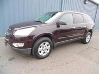 Check out this gently-used 2010 Chevrolet Traverse we