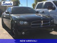 Brilliant Black 2010 Dodge Charger R/T RWD 5-Speed