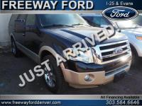 Tuxedo Black Metallic 2010 Ford Expedition Eddie Bauer