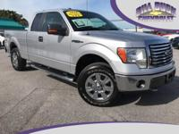 CARFAX One-Owner. This 2010 Ford F-150 4WD in Silver