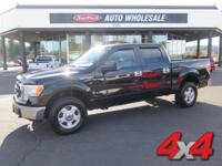 From work to weekends, this Black 2010 Ford F-150 XLT