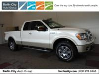 One owner 2010 FORD F150 SUPERCAB LARIAT 4X4,locally