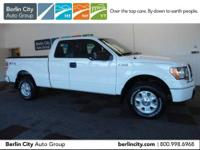 One owner 2010 FORD F150 SUPER CAB STX 4X4 with just