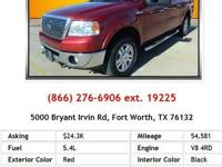 2010 Ford F150 Supercrew FX4 Truck 4 Doors Red 4RD V8
