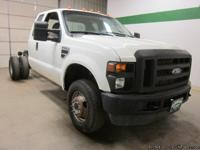 2010 Ford F350 4x4 V10 Extended Cab Cab & Chassis