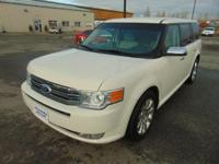 All Wheel Drive Ford Flex Limited Nicely Equipped, and
