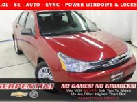 ***SE - AUTOMATIC - SEDAN - SYNC - ALLOY WHEELS -