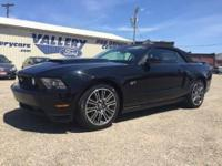 2010 FORD MUSTANG..... GT CONVERTIBLE.... 2-OWNER....
