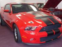 2010 Ford Mustang Shelby COBRA GT 500 asking $40,000.