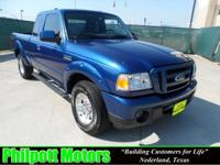 Options Included: N/A2010 Ford Ranger Supercab, blue
