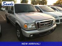 CARFAX One-Owner. Silver Metallic 2010 Ford Ranger XLT