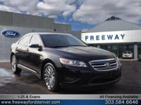 Tuxedo Black Metallic 2010 Ford Taurus Limited AWD
