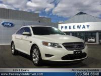 White Platinum Metallic Tri-Coat 2010 Ford Taurus SEL