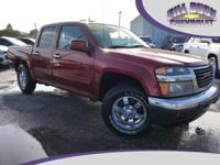 CARFAX One-Owner. This 2010 GMC Canyon SLE1 in Merlot