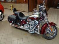 Here we have a 2010 Harley Davidson CVO Softail