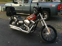 2010 Harley Wide Glide, FXDWG. Precisely 7,534 miles.