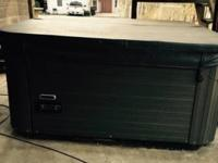 2010 Hawkeye Odessey hot tub. 5-6 seat with lounger.