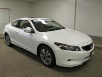 **CARFAX One Owner, Honda Certified, Sporty Coupe,