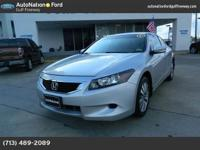 Look into this gently-used 2010 Honda Accord Cpe we