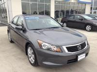 Drive in style with this Honda Accord EX-L Navigation.
