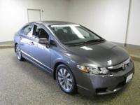 **CARFAX One Owner, Honda Certified, Sunroof, Sleek and
