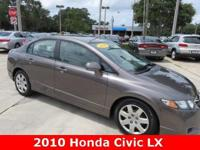 2010 Honda Civic LX ** 34MPG ** Automatic ** No