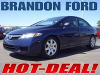 Only 26K miles on this Honda Civic - LX trim -