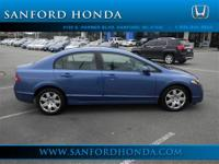 Civic LX Honda Certified 4D Sedan 1.8L I4 SOHC 16V