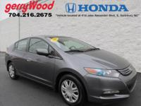 ONLY 30K MILES ON THIS 2010 HONDA INSIGHT AND UP TO 42