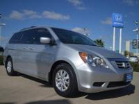 2010 Honda Odyssey EXL pre owned silver minivan for