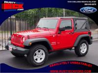Our sturdy 2010 Jeep Sport comes with a 3.8-liter V6