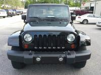 Options:  2010 Jeep Wrangler Unlimited Sahara Sport
