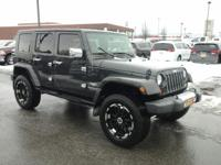This 2010 Jeep Wrangler Unlimited Sahara is proudly
