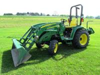 I'm selling my 2010 John Deere 3520 Compact Tractor w/