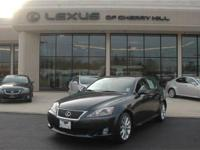 This 2010 Lexus IS 250 4dr AWD Sedan features a 2.5L V6