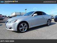 This 2010 Lexus IS 250C is offered to you for sale by