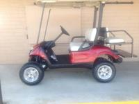 "2010 Yamaha Drive Gas  New Body & Seat  6 "" Jakes Lift"